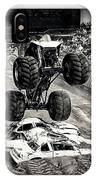 Monster Truck 1b IPhone Case