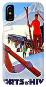 Mont Blanc, Mountain, France, Skiing IPhone Case