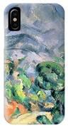 Mont Sainte Victoire IPhone Case