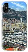 Monte Carlo Harbor View IPhone Case