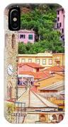 Monterosso Al Mare Cinque Terre Italy IPhone Case