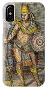 Montezuma II (1480?-1520) IPhone Case