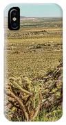 Montezuma Rd-borrego Occitillo Wells View IPhone Case