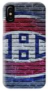 Montreal Canadiens Wall IPhone Case