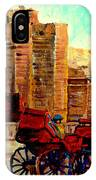 Montreal City View IPhone Case