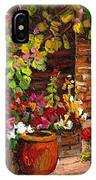 Montreal Cityscenes Homes And Gardens IPhone Case