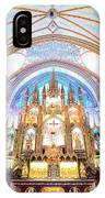 Montreal Notre-dame Basilica IPhone Case
