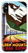 Montreux, Golden Mountain Railway, Switzerland IPhone Case