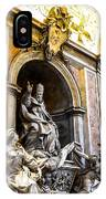 Monument To Pope Gregory Xiii In St Peter's Basilica IPhone Case