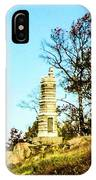 Monument To The 91st Pennsylvania  Volunteers IPhone Case