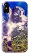 Moo Cow Love Grass IPhone X Case
