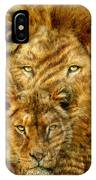 Moods Of Africa - Lions 2 IPhone Case