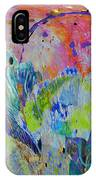 Moody Blues2 IPhone Case by Kate Word