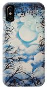 Moon Clouds IPhone Case