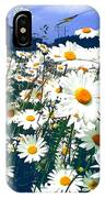 Moon Daisies IPhone Case