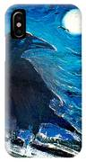 Moonlight Crow IPhone Case