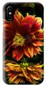 Moonlight Dahlia IPhone Case