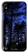 Moonrise In The Woods IPhone Case by Margaret Pitcher