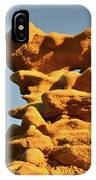 Moonrise Over Fantasy Canyon Hoodoo IPhone Case