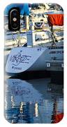 Moored Sailboats IPhone Case