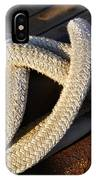 Mooring Rope Made Fast IPhone Case