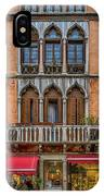 Moorish Style Windows Venice_dsc1450_02282017 IPhone Case