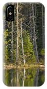Moose Creek Reservoir IPhone Case