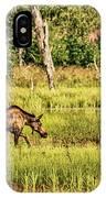 Moose Meadows IPhone Case