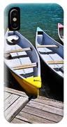 moraine lake in banff national park, alberta, Canada IPhone X Case