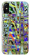 More Colors Abstract IPhone Case