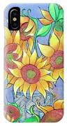 More Sunflowers IPhone X Case