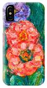 More Zinnias IPhone Case