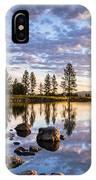 Morgan Lake Sunrise IPhone Case