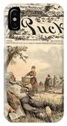 Mormon Cartoon, 1887 IPhone Case