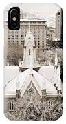Mormon Temple IPhone Case