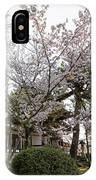 Morning At Horyu-ji Temple IPhone Case