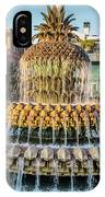 Morning At Pineapple Fountain IPhone Case