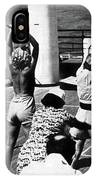 Morning Calisthenics On The Rms Queen Mary 1938 IPhone Case