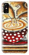 Morning Delight Original Painting Madart IPhone Case