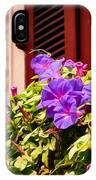 Morning Glories In Nola IPhone Case