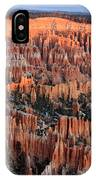 Morning In Bryce Canyon IPhone Case