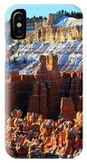 Morning Light At Sunset Point In Bryce Canyon IPhone Case