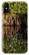 Morning Light Mangrove Reflection IPhone Case