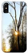 Morning Mood In The Forest IPhone Case