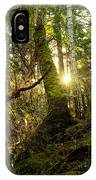 Morning Stroll In The Forest IPhone Case