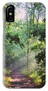 Morning Sunshine On The Appalachian Trail IPhone Case