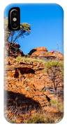 Morning To The Kings Canyon Rim - Northern Territory, Australia IPhone Case
