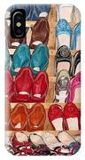 Moroccan Shoes 3 IPhone Case