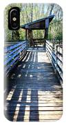 Morris Bridge Boardwalk IPhone Case