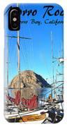 Morro Rock Morro Bay California IPhone Case
